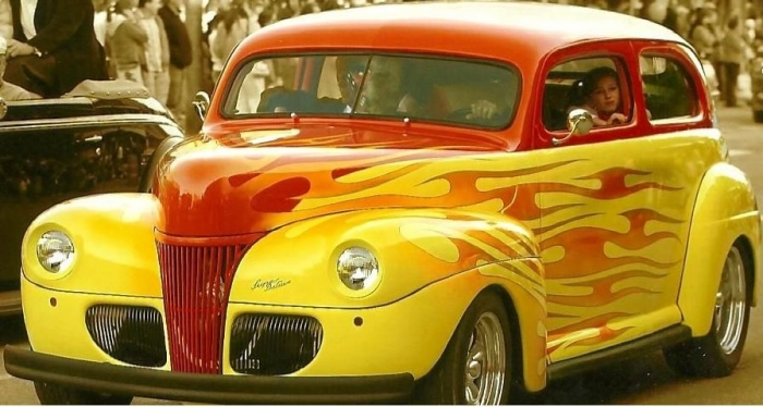 1941 Ford Tudor Custom Nostalgic Hot Rod