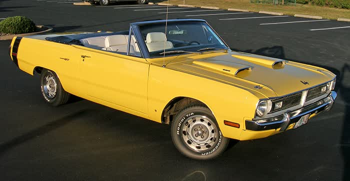 1970 Dodge Dart GT Convertible
