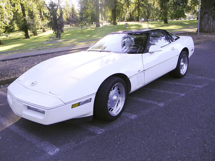 1988 Chevrolet Corvette 35th Anniversary Model