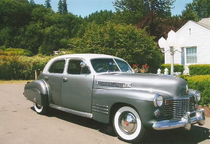 1941 Cadillac 4 Door Sedan