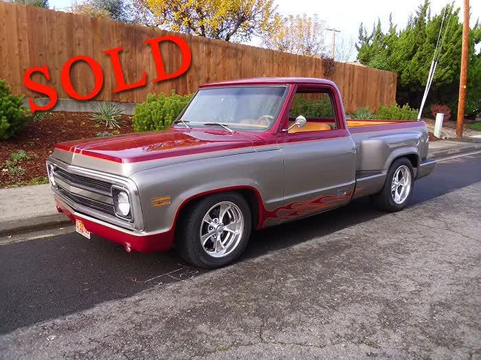 1970 Chevrolet Pickup <font color=red>*SOLD*</font color>