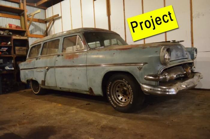 1954 Ford Country Sedan Wagon