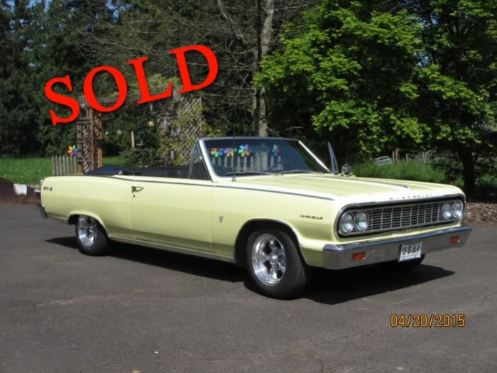 1964 Chevrolet Chevelle Malibu SS Convertible <font color=red>*SOLD*</font color>