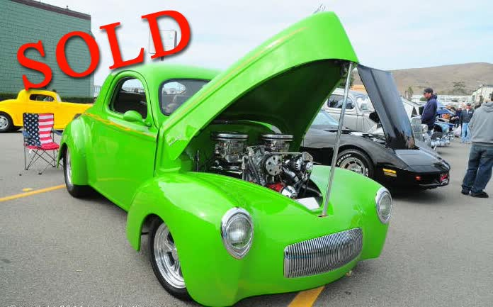 1941 Willys Coupe Pro Built, Sassy Grass Green Show Stopper