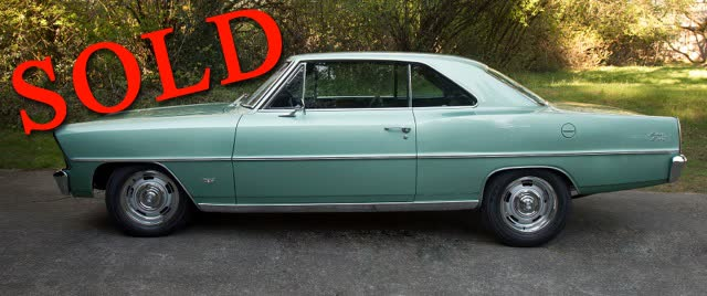 1967 Chevrolet Nova Hardtop