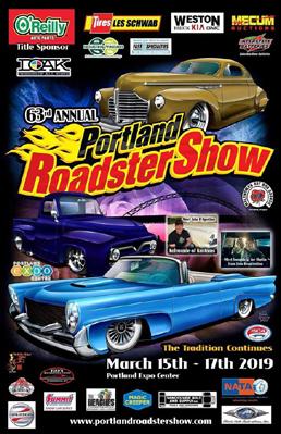 Image result for portland roadster show 2019 logo